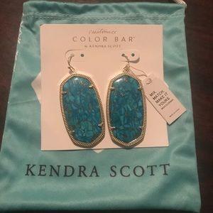 Kendra Scott Danielle Earring in Turquoise